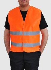 Iş Yeleği İkaz Yeleği Reflektörlü Fosforlu Yelek İş Güvenliği