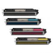 Canon Crg 729 Hp 126a Cmyk Toner 4 Renk Takım