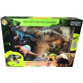 Saat Hediye Dinosaur World Dinazorlar Dünyası 5 Figürlü Set