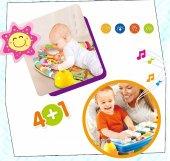 Babycim 5 İn 1 Piyanolu Oyun Halısı Çıngıraklı Aynalı Sesli