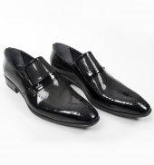 Deepsea Lazer İşlemeli Burnu Desenli Klasik Rugan Deri Erkek Ayakkabı 1801031
