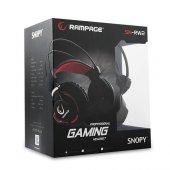 Snopy Rampage Sn Rw2 Mikrofonlu Kulaklık Siyah