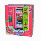 Keenway Play Home Işıklı Ve Sesli Buzdolabı Oyuncak Mutfak Seti 21676