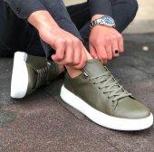 Conteyner 513 Royal Haki Renk Günlük Ayakkabı