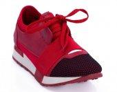 G C Kırmızı Renk Günlük Ayakkabı