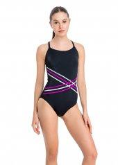 Dagi Kadın İnce Askılı Yüzücü Mayo Siyah B0118y0002sy