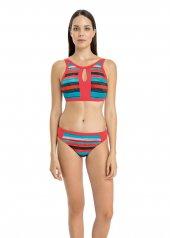 Dagi Kadın Boyundan Bağlı Bikini Takımı Turuncu B0118y0440trc