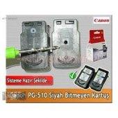 Canon Pixma Mx 350 Pg 510 Siyah Orj Bitmeyen Kartuş