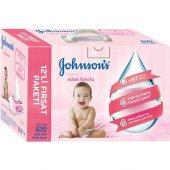 Johnsons Baby Parfümlü Islak Mendil 672 Yaprak 12li Paket