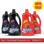 Woolite Çamaşır Deterjanı Koyu Renkler&renkliler 4x2.5 Lt
