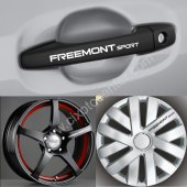 Fiat Freemont Kapı Kolu Jant Sticker