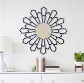 60x60cm Triangle Dekoratif Ayna
