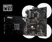 Msı Z370 A Pro Intel Z370 Soket 1151 V.2 Ddr4 4000mhz+(O.c.) Vga&dvı Anakart