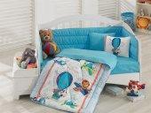 Cotton Box Ranforce Bebek Uyku Seti Ucan Dostlar Mavi