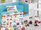 Cotton Box Ranforce Bebek Uyku Seti Mutlu Bebek