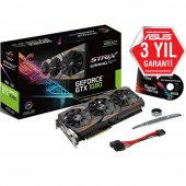 Asus Geforce Gtx1080 Rog Strıx Gamıng 8gb Gddr5x 256bit Dx12 Nvıdıa Ekran Kartı
