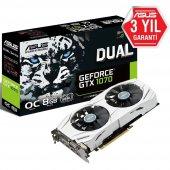 Asus Geforce Gtx1070 Dual Oc Gddr5 8gb 256 Bit Dx12 Nvıdıa Ekran Kartı