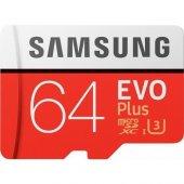 Samsung Evo Plus 64gb Microsd Hafıza Kartı Mb Mc64...