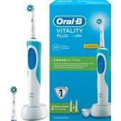 Oral B Vitality Şarj Edilebilir Diş Fırçası Cross Action + 1 Yede