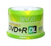 Bingo Dvd+r 8.5gb Dl 240mın 8x 50li Cake Prıntable