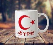 Ay Yıldız Göktürkçe Türk Kupa Bardak