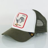 Goorin Bros Animal Farm Trucker New Cock Haki