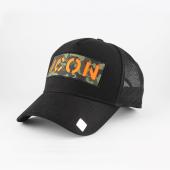 ıcon Turuncu Kabartma Hat Black Unisex Şapka Model 2018