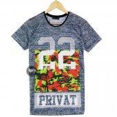 Prıvat 22 Kamuflaj Baskı T Shirt Tişört