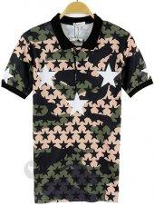 Stars Unisex Polo T Shirt Tişört