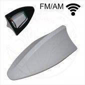 Oto Anten Fm Am Fonksiyonlu Universal Kalite 3m Beyaz Renk Oa405