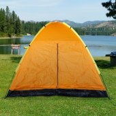 Discovery 6 Kişilik Turuncu Su Geçirmez Kamp Çadırı