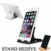 Telefon Tablet Ayarlı Stant Portatif Masaüstü Dock Şarj Stand