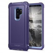 Galaxy S9 Plus Kılıf, Spigen Pro Guard Deep Purple