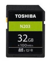 Toshiba 32gb Sdhc Hafıza Kartı C10 U1 100mb S Thn N203n0320e4