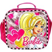 Hakan Çanta Barbie Kabartmalı Simli Beslenme Çantası 95277