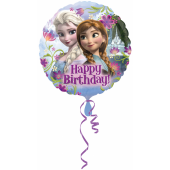 1 Adet Kikajoy Frozen Happy Birthday Folyo Balon 45 Cm