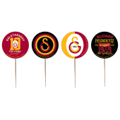 8 Adet Kikajoy Galatasaray Dekoratif Kürdan
