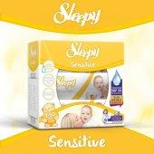 Sleepy Sensitive Islak Mendil Kapaklı Ambalaj 3lü 150 Yaprak