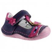 Teo Bebe 4300 Pembe 100 Deri Ortopedik İlkadım Kız Çocuk Ayakkabı