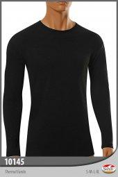 şahin Marka, Erkek, Uzun Kol, Yuvarlak Yaka T Shirt, Termal İçlik,