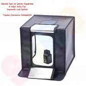 ürün Çekim Çadırı Ledli Mini Stüdyo Set 80x80cm,60...