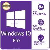 Windows 10 Pro Ürün Anahtarı Key 2019 32 64 Bit Or...