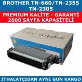 Brother Tn 2355 Siyah Muadil Toner 2.600 Sayfa Tn 660