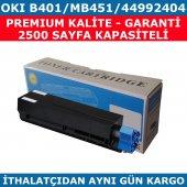 Okı B401 Mb451 44992404 Muadil Toner 2.500 Sayfa