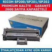 Rıcoh Sp200 Sp201 Sp202 Muadil Toner 2.600 Sayfa