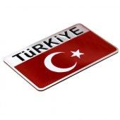 Modacar Metal Türkiye Bayrağı Arma 422314