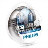 Philips H7 Model Crystal Vision Far Ampül Seti 422914