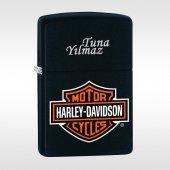 Kişiye Özel Orijinal Zippo Çakmak Harley Davidson