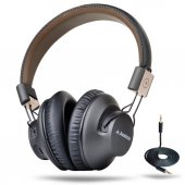 Avantree 40 Hr Wireless Bluetooth 4.1 Over The Ear Foldable Headp
