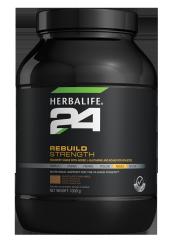 Herbalife H24 Rebuild Strength Çikolata Aromalı Proteince Zenginleştirilmiş Spor Gıdası
